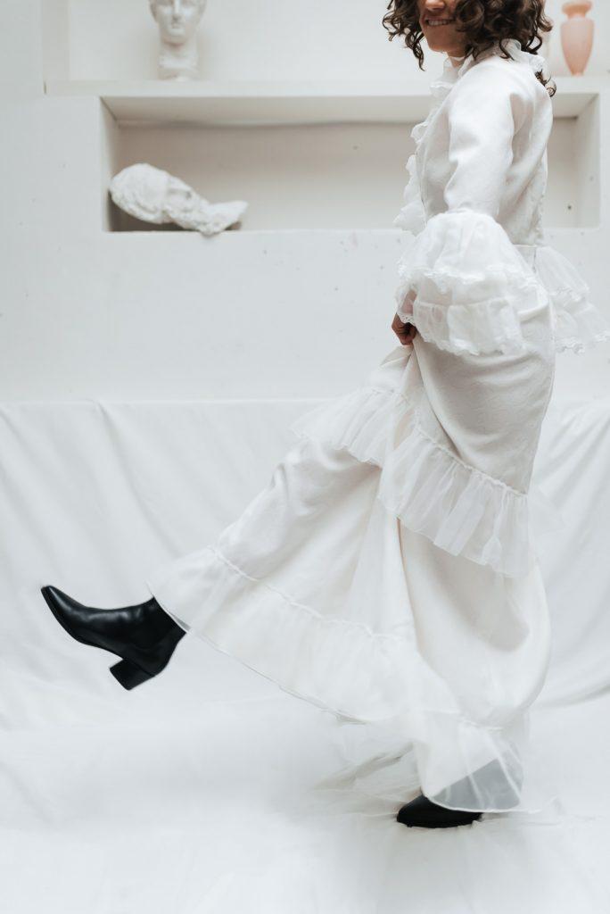 Vintage svatební šaty Praha - Půjčovna pro alternativní nevěsty